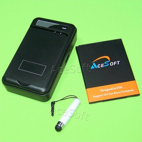 AceSoft 3500mAh Extra Standard Battery Travel Dock Home USB/