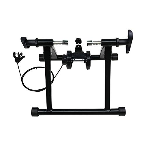 DakRide Bike Trainer Stand Portable Steel Bicycle Exercise Magnetic Stand with Noise Reduction Wheel