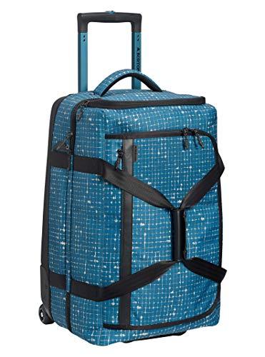 - Burton Wheelie Cargo 65L Travel Bag, Blue Sapphire Ripstop Texture Print