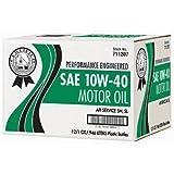 Certified 10W40 Motor Oil - 1 Quart Bottles - 12 pack (pack of 6)
