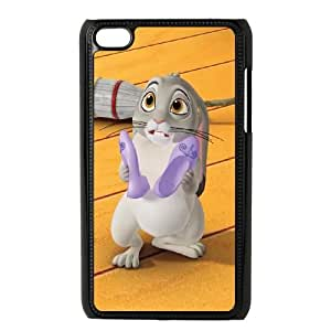 iPod Touch 4 Case Black Disney Sofia the First Character Clover