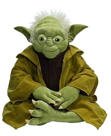 Star Wars 692236 Yoda Sitzend Plusch 60 Cm Amazon De Spielzeug