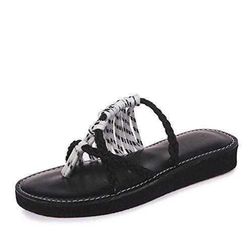 2018 Verano Mujeres Sandalias y Chanclas, WINWINTOM Suave Zapatillas de Estar por Casa, Mujer Señoras Nuevo Verano Bajo Talón Plano Flip Flops Zapatillas Playa Sandalias Zapatos Blanco