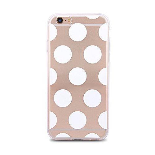 Hülle CIRCLE / KREIS für Apple iPhone 5 iPhone 5S iPhone 5G iPhone 5SE Silikonhülle Case Cover Handy Tasche TPU Silikon Hülle