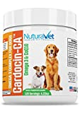 Cheap NuturaVet Cardocin-CA Omega 3 Complex For Dogs By Dietary Supplement With Fish Oil & CoQ10- Unique Blend Promotes Heart Health & Heals Skin Conditions (Beef, Bacon & Liver)