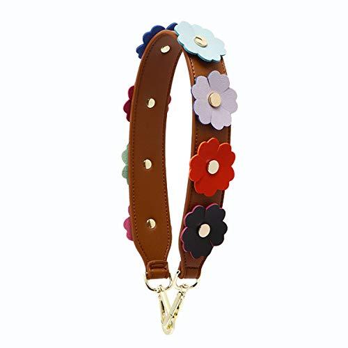 Handbags Strap Waller Purse Wide Wrist Strap Replacement Short Shoulder Handle Fit Evening Bags Saddle Messenger Bags Brown