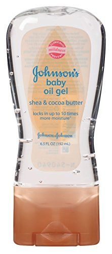 Price comparison product image Johnsons Baby Oil Gel Shea & Cocoa Butter 6.5 Ounce (192ml) (3 Pack)