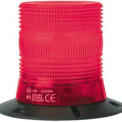 RS Pro 235950 Xenon Beacon Red Flashing Surface Mount 10 - 100 Vdc