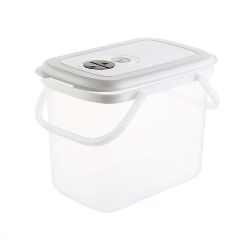 Contenitore per la conservazione dei chicchi di riso con farina 10KG di cereali da cucina con manico (31 * 22 * 36 cm) (Colore : #1)