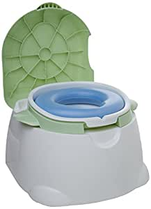 Safety 1st Comfy Cushy Potty Trainer and Step Stool, Blue