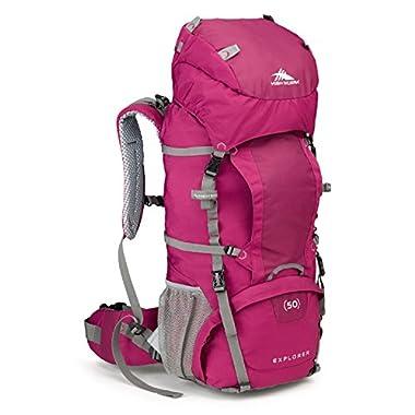 High Sierra Women's Explorer 50 Internal Frame Pack, Boysenberry/Boysenberry/Ash
