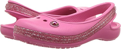 ccad7b002 Crocs Girls  Genna II Sprkl BND Slng K Ballet Flat