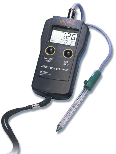 Hanna Instruments HI 99121 Direct Soil pH Meter by Hanna Instruments