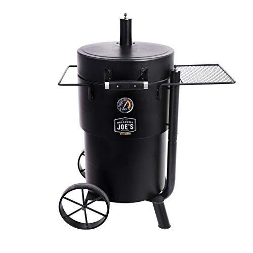 Oklahoma Joe's 19202089 Bronco Charcoal Smoker, Black