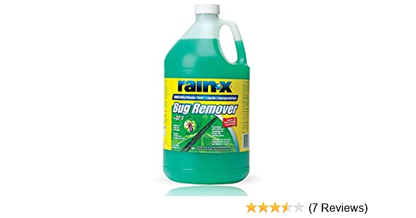 Amazon.com: Rain-X Original 2-in-1 Windshield Washer Fluid, Removes Grime, Improves Driving Visibility - 32° F: Home & Kitchen