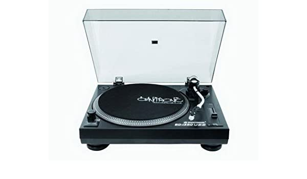OMNITRONIC BD-1390 USB-Tocadiscos sw: Amazon.es: Electrónica