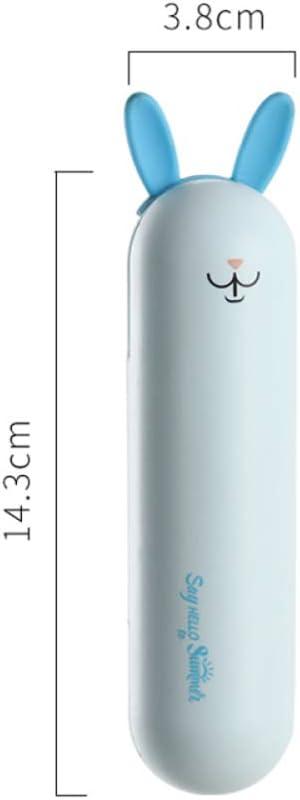LIHUAN Mini Ventilador Portátil Portátil Pequeño USB Plegable Recargable De Mano Ventilador Eléctrico,A
