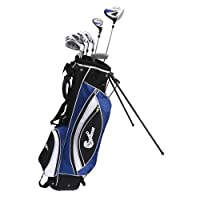 Confidence Power II Hybrid Men Right Handed Golf Clubs Set + Bag