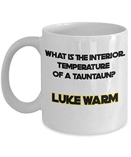 Funny Star Wars Joke Mug - Luke Skywalker - Tauntaun Coffee Mug Gift