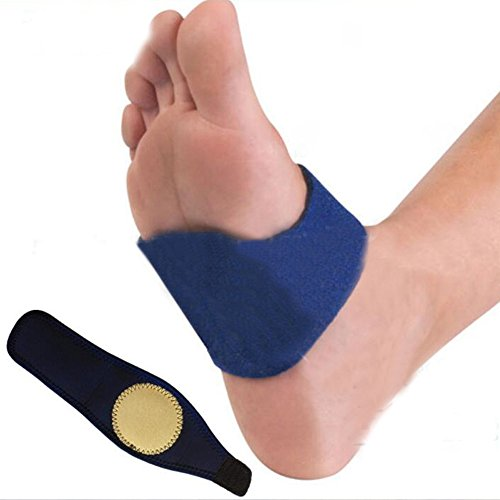 Denshine Arch Supports Adjustable Arch Orthotic Insoles Supports Insert Cushion Gel Foot Arch - Easy Arch