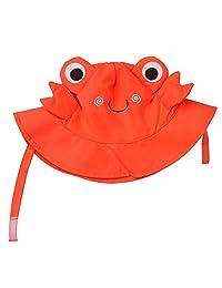 Zoocchini Baby Sun Hat, Crab, 3-6 Months