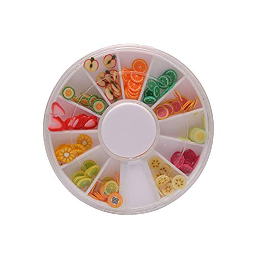 - NiceWave 1 Set Mixed Colour Fruit and Sweet Candy Slime Charms Slices with Flatback for DIY Craft and Decoration Shine and Beautiful