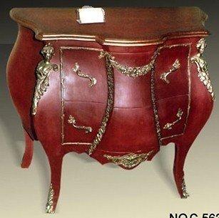 Barock Kommode Rokoko Antik Stil Louis XV MoCoC05631