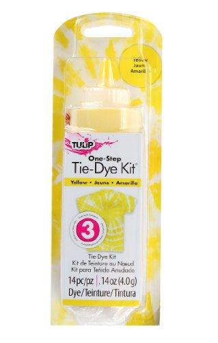 yellow tie dye - 3