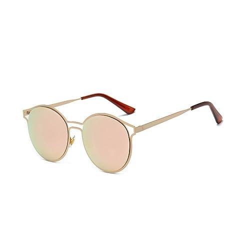 Winwintom Mujeres Hombres Vintage Retro moda gafas de aviador unisex espejo lente gafas de sol viaje...