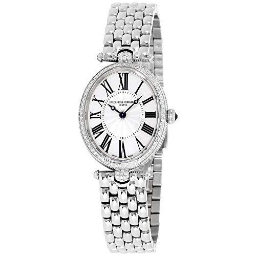 Frederique Constant Women's FC200MPW2VD6B Art Deco Diamond-Accented Stainless Steel ()