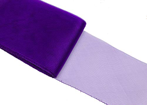 Crinoline Horsehair Braid for Millinery 6 (16 cm) Wide - Purple - Sold by The Yard