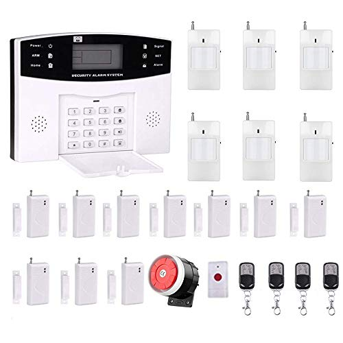 Ag-securityTM High efficiency security system 99+8 zone Automatic alarm GSM SMS Home Burglar Security Wireless Gsm Alarm System Detector Sensor Kit Remote Control