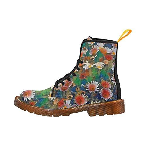 LEINTEREST Floral ArtStudio Martin Boots Fashion Shoes For Women 6dAUHabM