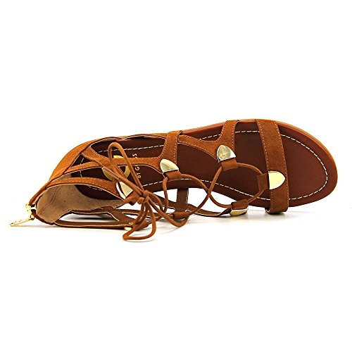 Camoscio Open Fabric Sandals Casual Suede Gladiator Womens Rusty Toe GUESS 463 G by Lewy qga77w