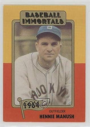 Amazoncom Heinie Manush Baseball Card 1980 87 Sspc