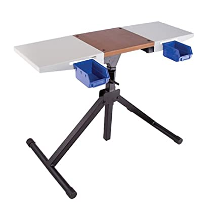 Terrific Frankford Arsenal Platinum Series Reloading Stand With Adjustable Steel Frame Construction Wood Surface Center And Storage Bins For Reloading Squirreltailoven Fun Painted Chair Ideas Images Squirreltailovenorg