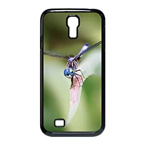 Samsung Galaxy S4 Cases Dragonfly Closeup, Protective Dragonfly Cases Naza, {Black}