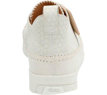 Sneakers Sneakers In Pelle Scamosciata Uomo Clarks In Pelle Bianca / Pelle Scamosciata