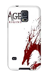 Awesome Case Cover/galaxy S5 Defender Case Cover(dragon Age Origins Game)