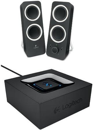 Logitech Z200 2 0 Pc Lautsprecher Mitternachtsschwarz Computer Zubehör