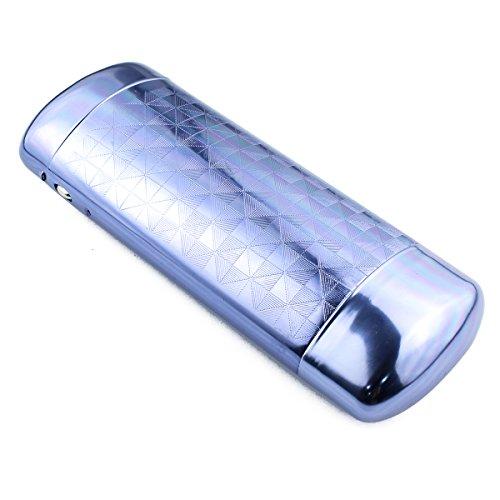 Aluminum Eyeglasses Unisex Slim Case for Reading Glasses Cases(Blue) by La Desire