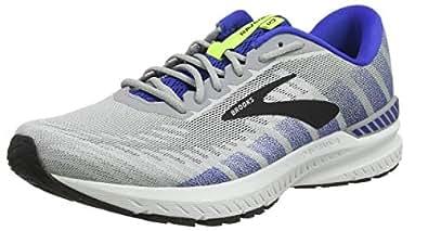 Brooks Australia Men's Ravenna 10 Road Running Shoes, Alloy/Blue/Nightlife, 8 US