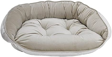 Bowsers Crescent Bed, Large, Almond