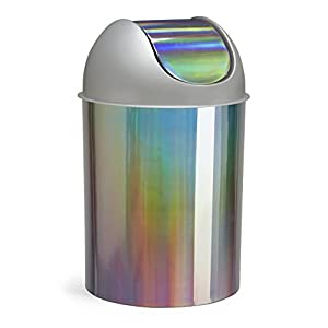 Umbra mezzo 2 5 gallon swing top waste can rainbow home kitchen - Umbra mini trash can ...