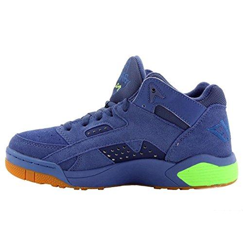 Fila F-13v Lea / syn moda zapatillas de deporte Blue