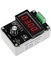 DROK Adjustable Current Voltage Analog Simulator, 0-20mA Signal Generator, DC 0-10V 4-20mA Changeable Current Source for Valve Adjusting PLC Panel LED Testing, Transmitter Output Simulation