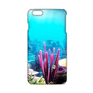 Evil-Store Wonderful sea world 3D Phone Case for iPhone 6 plus