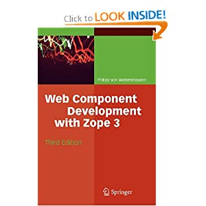 Web Component Development with Zope P. J. Eby, Philipp Von Weitershausen