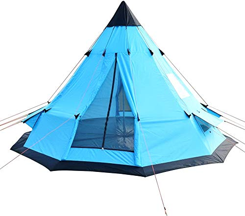 Camping Tent. 6-7 Person Family Dome Canopy is Portable, Waterproof. Best Outdoor, Hiking, Backpacking, Beach, Fishing, Hunting, Travel, Trip Gear, Equipment