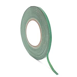 """Floral Tape Green, Flower Wrap Adhesive Waterproof Tape for Bouquets by Royal Imports 0.25"""" - 1 Roll"""